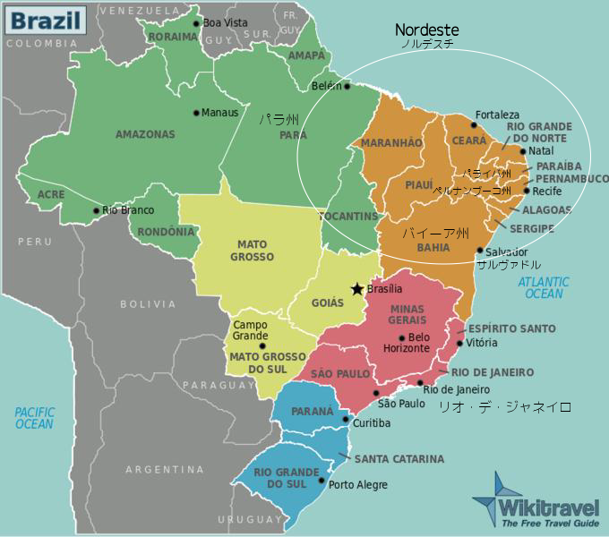 ブラジル音楽地図