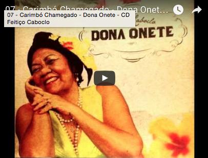 07 - Carimbó Chamegado - Dona Onete - CD Feitiço Caboclo