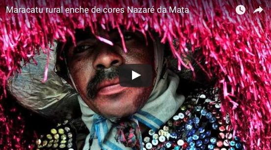 Maracatu rural enche de cores Nazaré da Mata