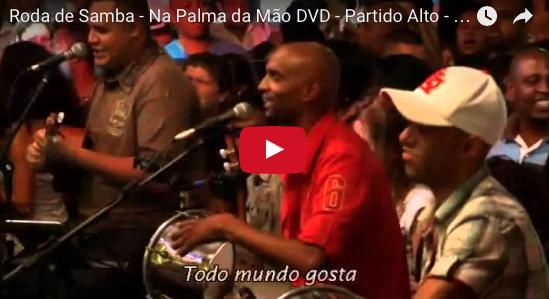 Roda de Samba - Na Palma da Mão DVD - Partido Alto - Samba de Raíz - Vila do Samba
