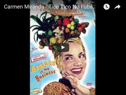 ティコ・ティコ Carmen Miranda - Tico-Tico No Fubá