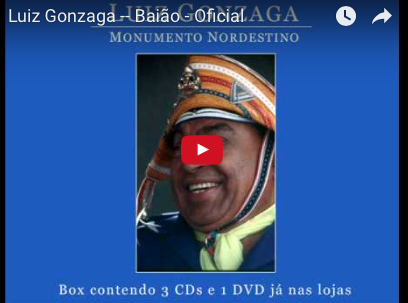 ルイーズ・ゴンザーガ Luiz Gonzaga -- Baião - Oficial